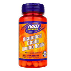 NOW Foods Branched Chain Amino Acids 60 caps