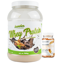 Trec Booster Whey Protein 700 g + D3 2000 60 caps